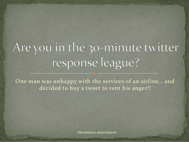 Public Relations & Social media - are you in the 30 minute twitter league??