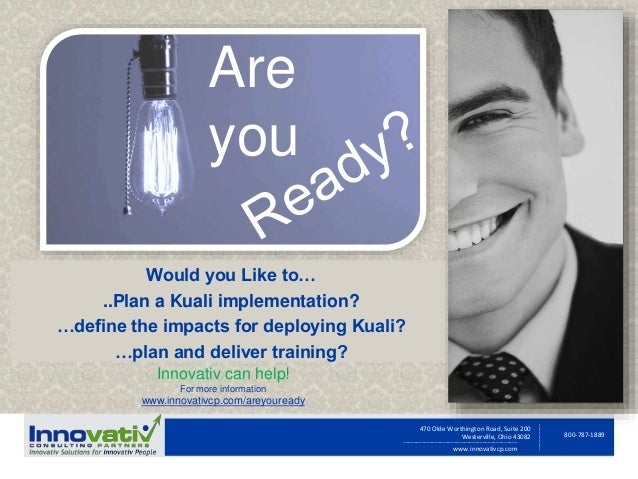 Kuali Readiness Assessment Solution Offering
