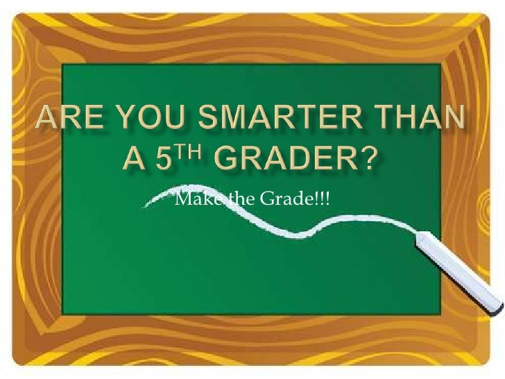 Make the Grade!!!