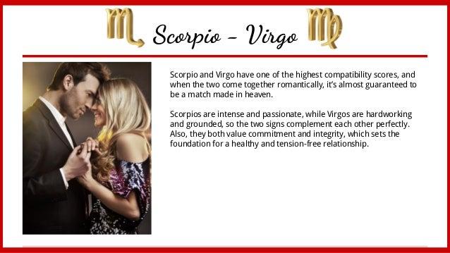 virgo woman dating a scorpio man