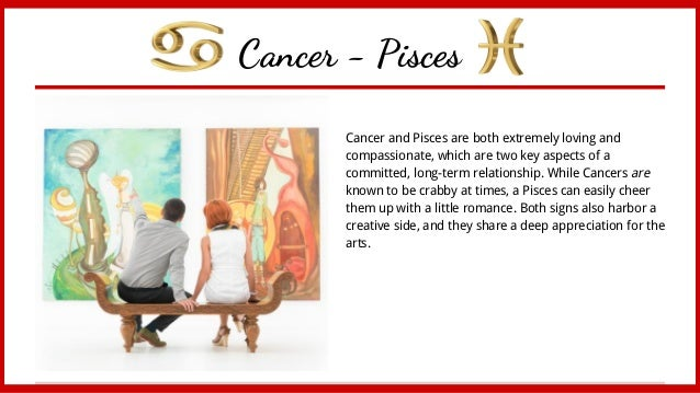 Pisces Man Hookup A Cancer Woman