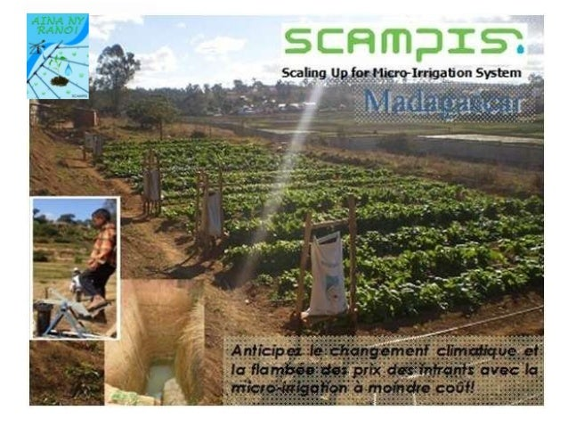 Madagascar. Scalin up micro-irrigation