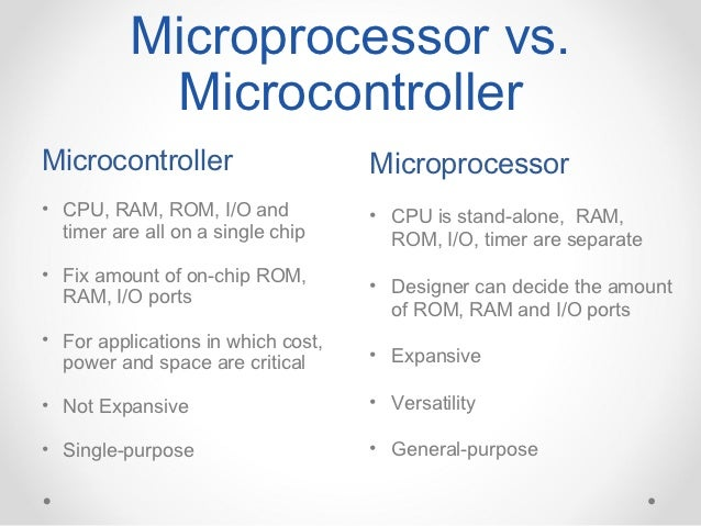 applications of microprocessor and microcontroller This book on microprocessors and microcontrollers is primarily designed for undergraduate students of this subject and will be very useful for self-study in view of complex nature of.