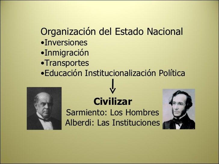 institucionalizacion del estado argentina warez