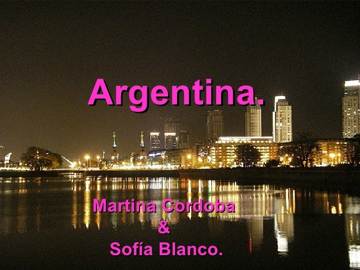 Argentina (created by my Students)