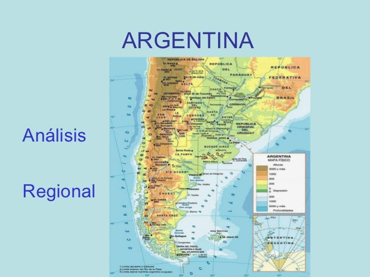 ARGENTINA (MAPA) Análisis Regional