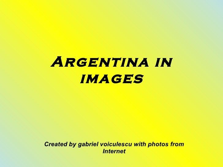 Argentina in images