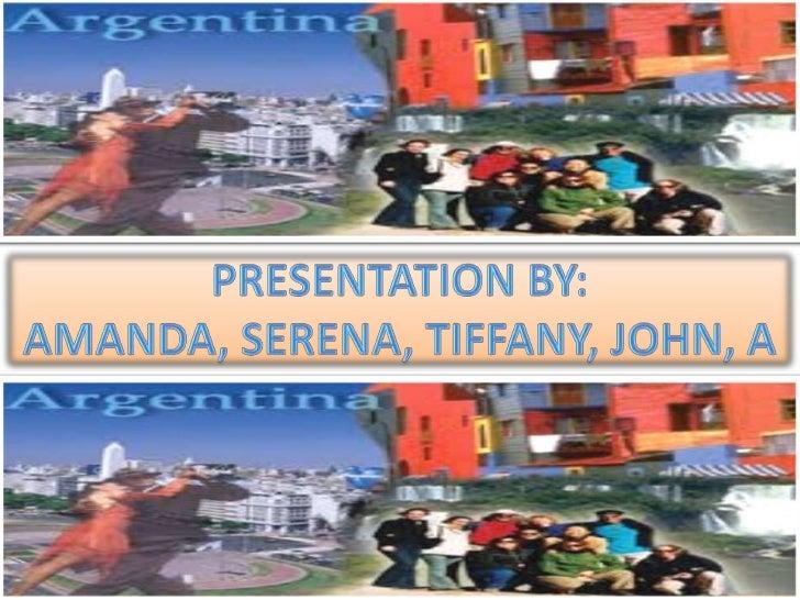 Argentina presentation final draft