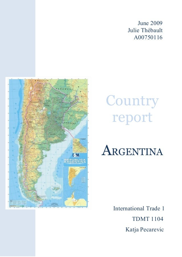 argentina country report Fairs country report food and agricultural import regulations and standards - narrative argentina required report - public distribution  section i general food laws.