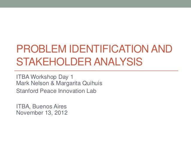 Stanford Peace Innovation Lab: ITBA Argentina workshop day 1