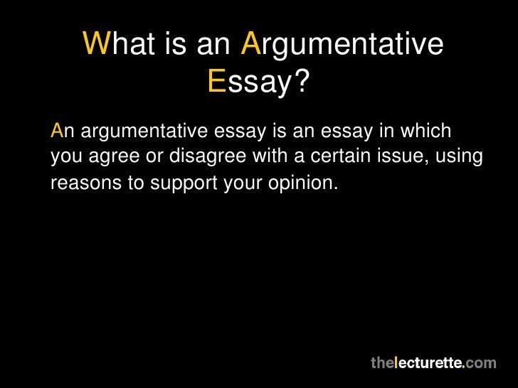 Rebuttal Essay