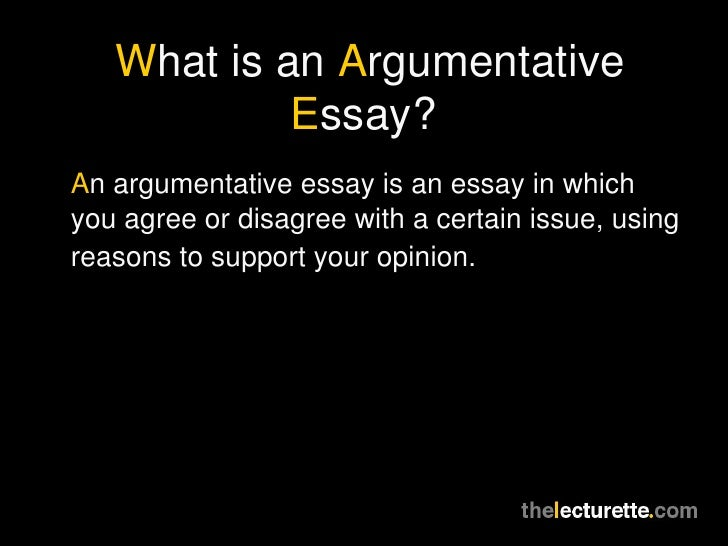 Whats your opinion on this essay?
