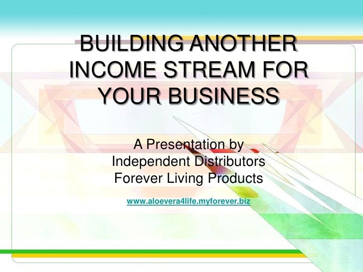 Building Another Income Stream For Your Business