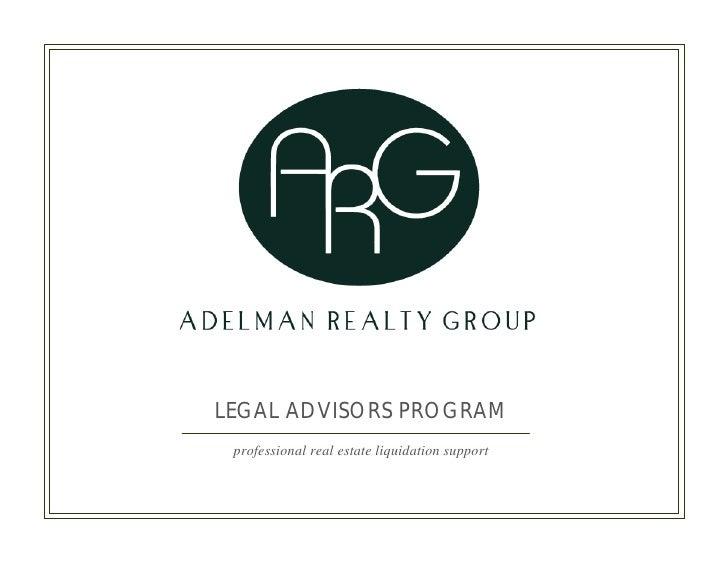 Arg Legal Advisors Program Email