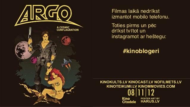 Kinoblogeri piedāvā: Argo (08.11.2012)