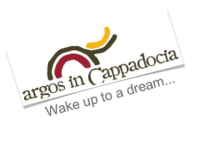 argos in Cappadocia- Luxury Cappadocia Hotel
