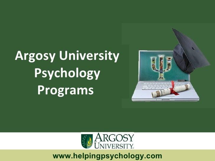 Argosy University  Psychology Programs  www.helpingpsychology.com