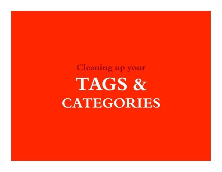 Argo webinar   tags & categories