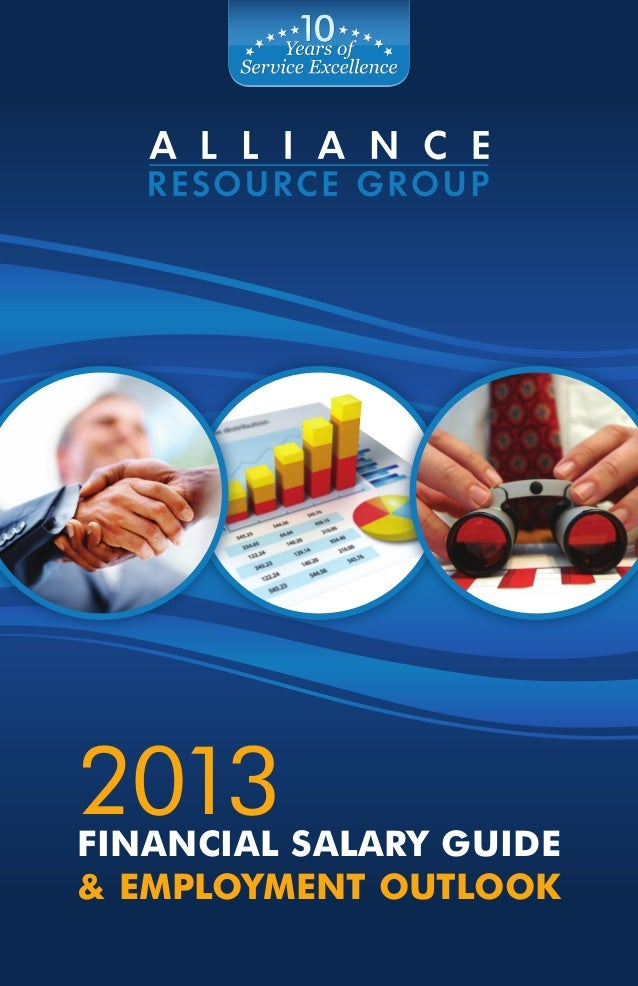 2013Financial Salary Guide& Employment Outlook