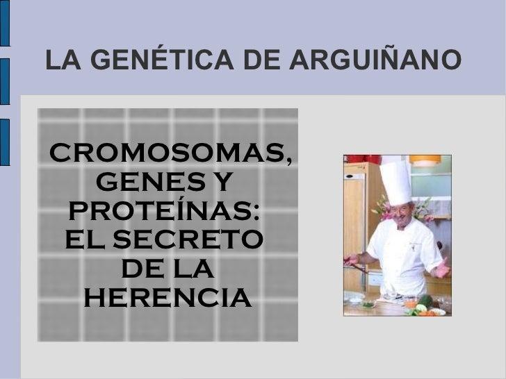 Arguinano y repaso proteinas