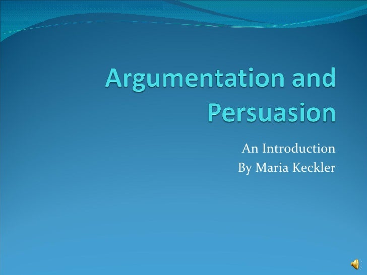 argumentation persuasion research paper