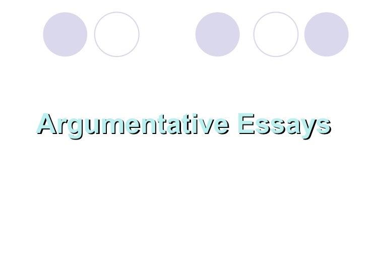 research argument essay