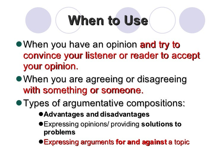 three types of argumentative essays You should make sure that your thesis fits one of the following types of an arguable thesis may overlap and use 2 or even 3 different the longer your essay.