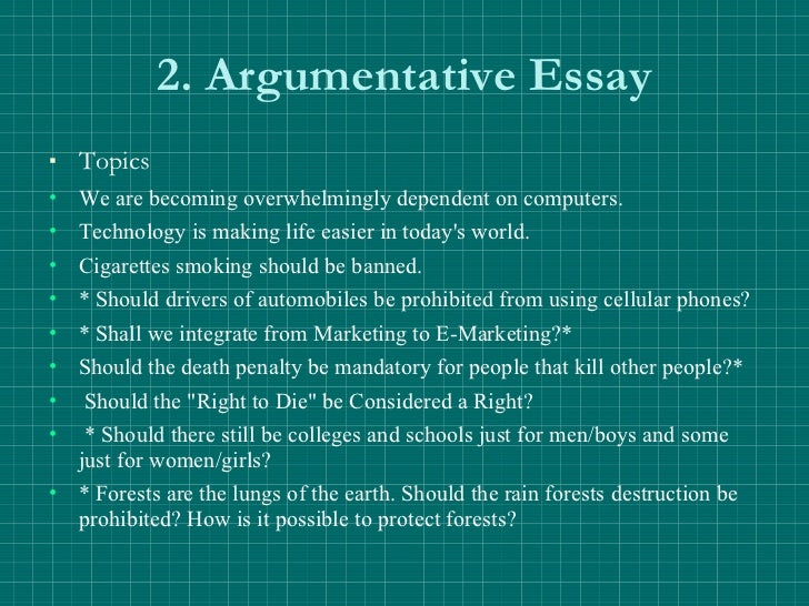 Argumentative essay on prop 8