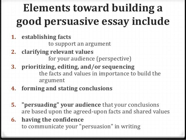 Examples of Persuasive Essays, free Samples