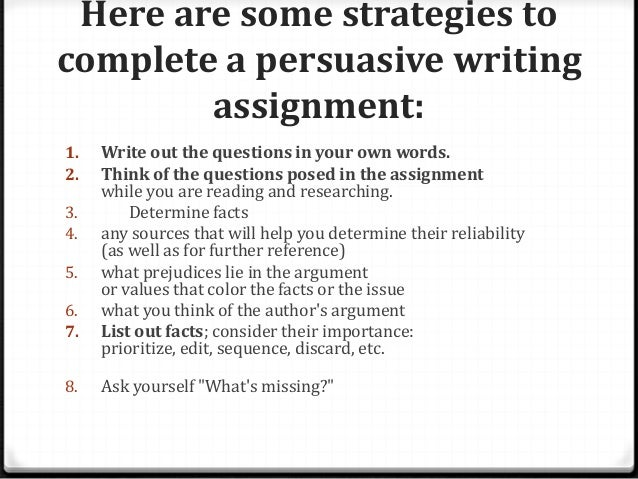 claims in persuasive essay What makes an essay persuasive how can you convince people that your position is the stronger side  parts of an argument: claims,  how to support your claims in writing with reasoning and .