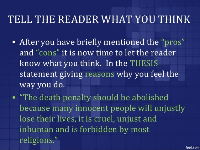 persuasive essay on why death penalty should be abolished Why the death penalty should be abolished - proposals, essays & academic papers of best quality use this service to order your profound custom writing delivered on time confide your paper to experienced writers engaged in the company.