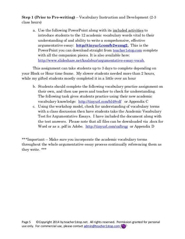 unit 6 critical thinking essay
