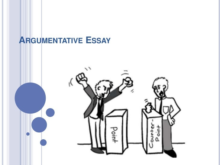 methods of organization for argumentative essays