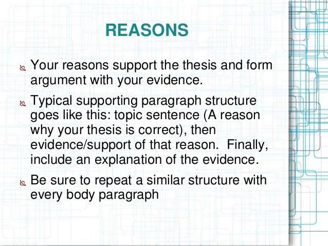 Argumentative essay powerpoint