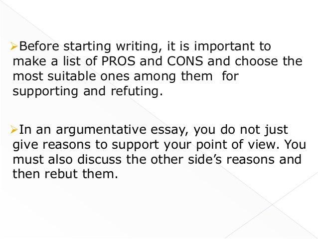how do an essay start