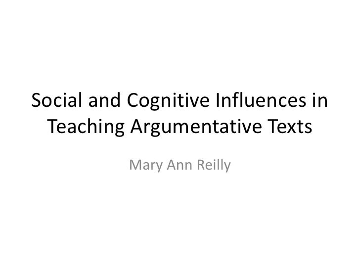 Developing Argumentive Discourse & Writing