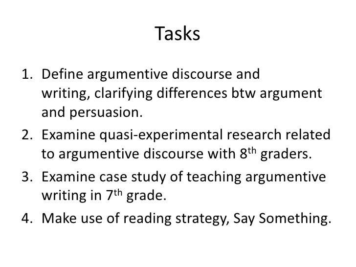 Define discursive strategy