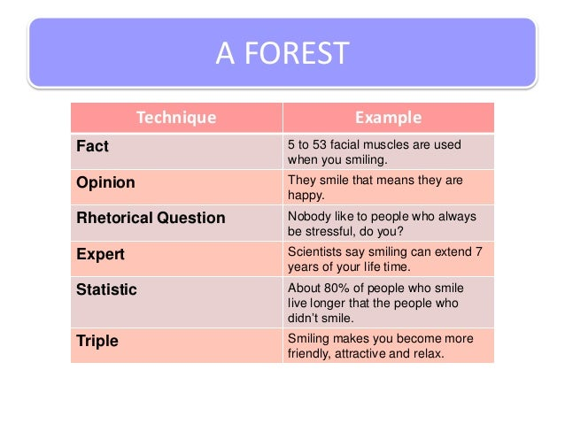 Forestry sample research writing
