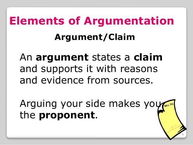 what are the elements of an effective argumentative essay In order to write an effective persuasive essay, the writer must understand the reader's perspective is the reader undecided or inclined to favor one side or the other do the research.
