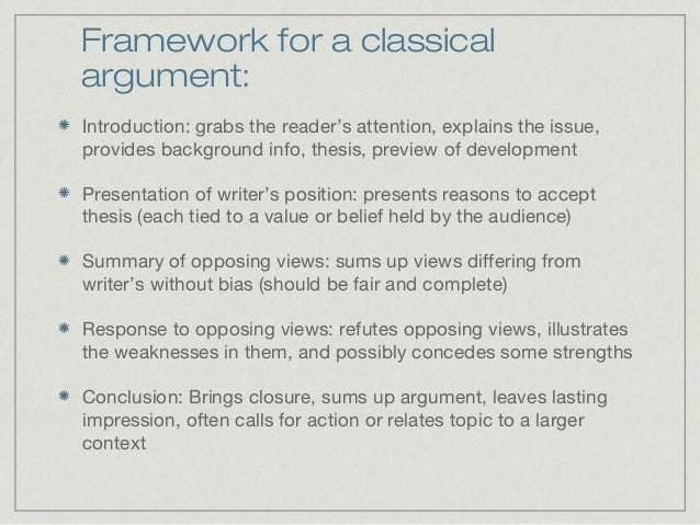 academic argument essay topics