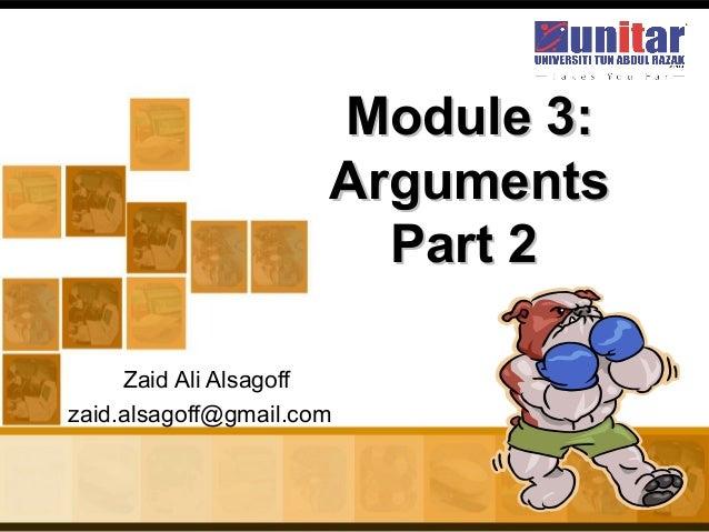 Arguments part-2736