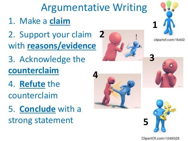 writing a argument essay How to write an argumentative essay it represents the basic pattern to follow in putting together any argument paper whether this paper is a class essay, a.