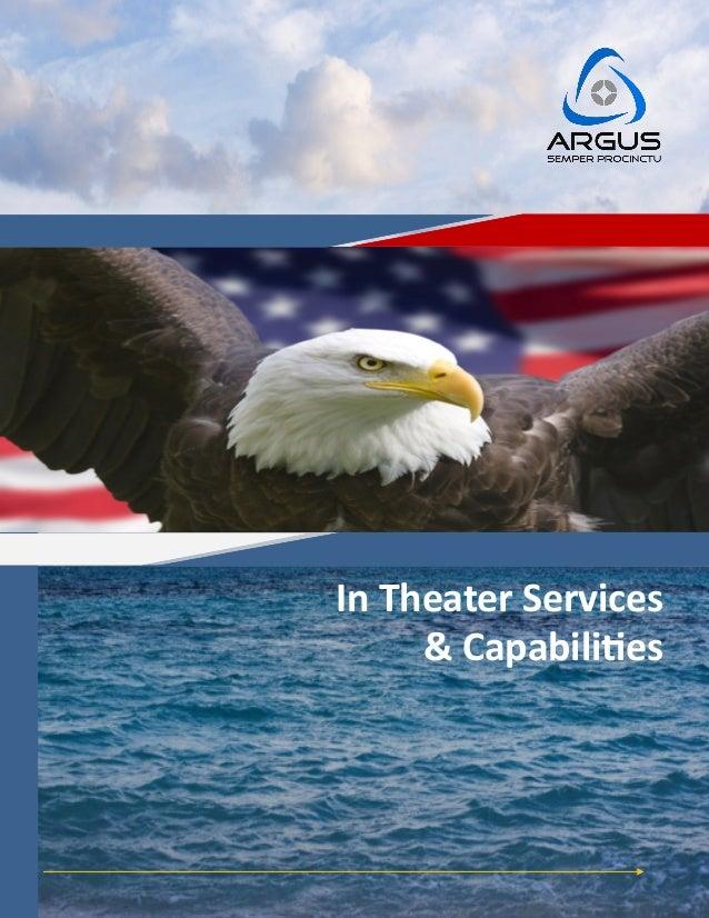 Argus International Risk Services Capabilities Statement
