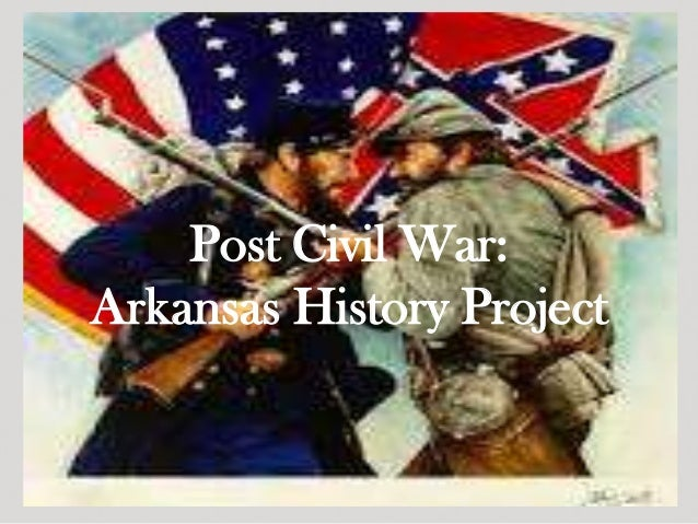 Post Civil War:Arkansas History Project