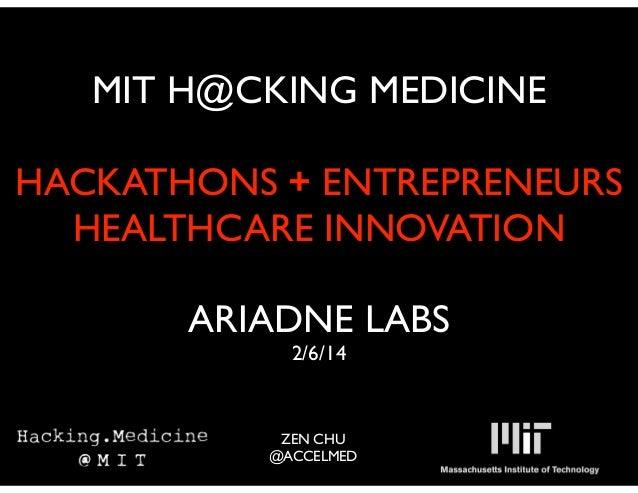 Ariadne gawande healthcare_innovation_020614