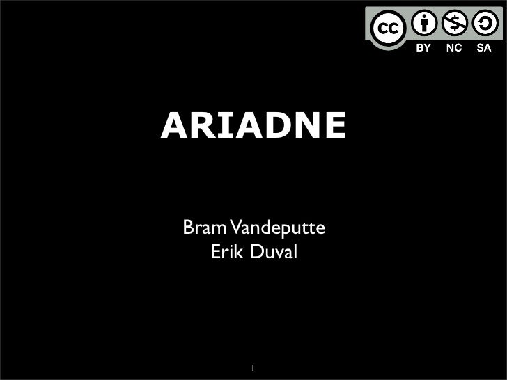 Ariadne Overview