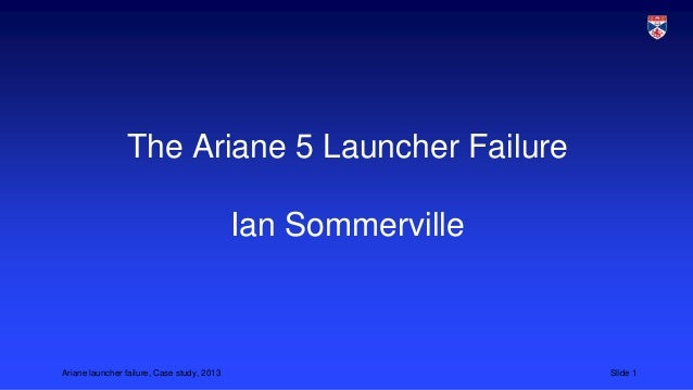 Ariane 5 launcher failure