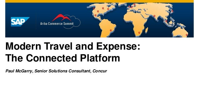 Modern Travel and Expense: The Connected Platform [San Mateo]