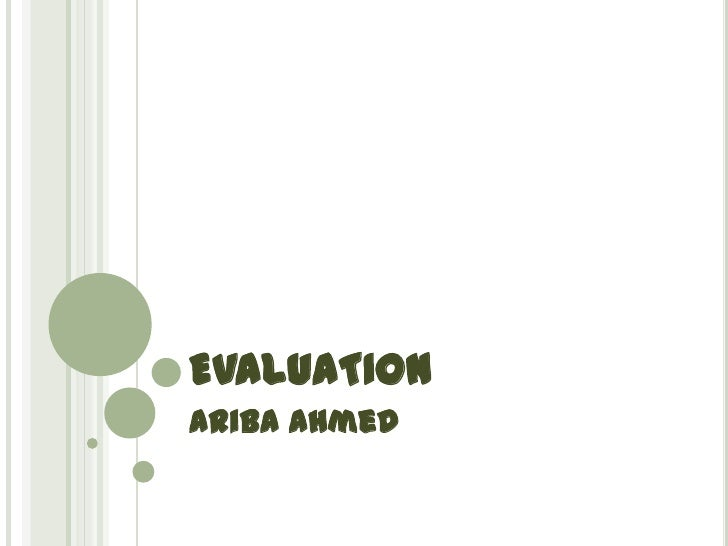 Ariba media evaluation