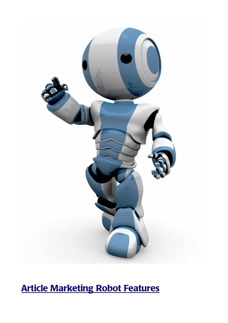 Article marketing robot_features